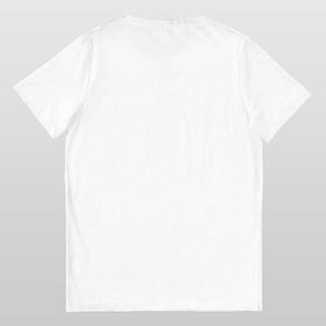 White Two Stripe Unisex T-Shirt