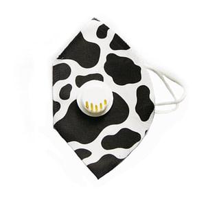 Black Cow Face Mask