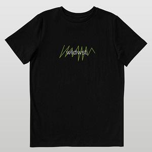 Black Cardiography Unisex T-shirt